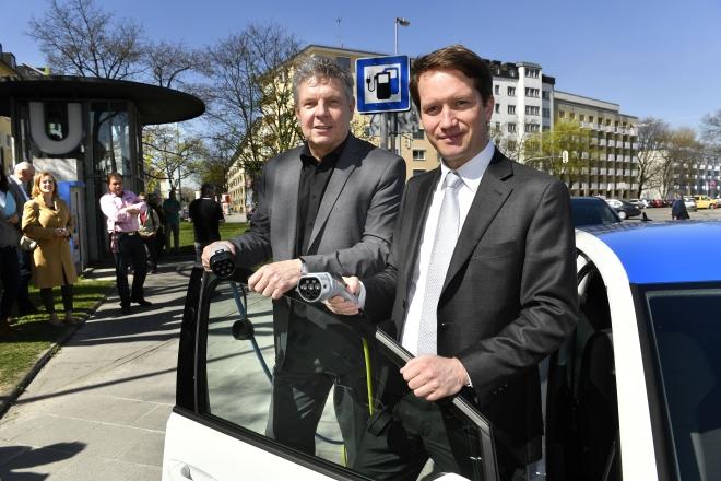 """München geht """"100-Ladesäulen-Programm"""" an"""